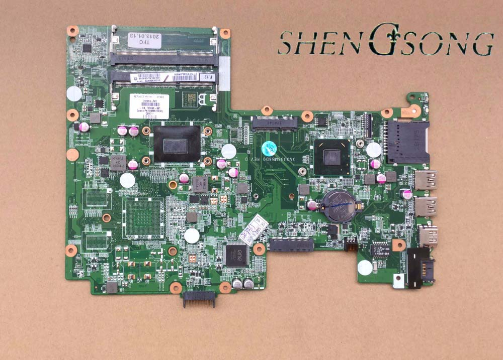 все цены на 701694-501 Free Shipping for hp Sleekbook 15 15-B 701694-001 laptop Motherboard i5-3317U cpu integrated graphics card онлайн