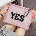 New summer fashion lady letter clutch bag Jelly color transparent envelope bag Beach Composite tassel Bag women handbag 2 sets