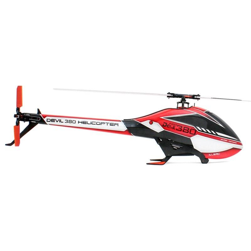 ALZRC Devil 380 FAST FBL 6CH 3D Красный/Желтый Летающий Радиоуправляемый вертолет, набор, игрушки для детей, подарки для детей 55x20x13 см - 2