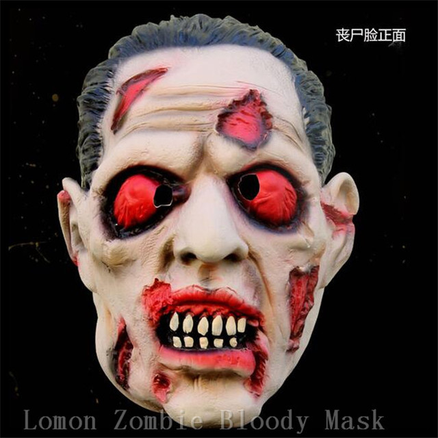 2016 New Design Halloween Parasite Zombie Mask Scary Mask With ...