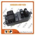 Выключатель стеклоподъемника для FITTOYOTA YARIS KSP90 NLP90 NSP90 SCP90 1KRFE 2SZFE 1.0L 1.3L L4 передний левый 84820-0D100 2005-201
