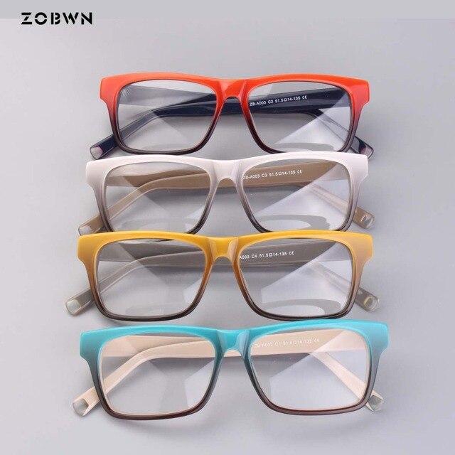 ZOBWN ผสมขายส่ง Vintage Designer กรอบแว่นตาผู้หญิงแว่นตา Clear Lens กรอบแว่นตาผู้หญิง oculos de grau feminino