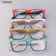 ZOBWN مزيج الجملة خمر العلامة التجارية مصمم نظارات المرأة إطار نظارات واضح عدسة النظارات إطار النساء oculos دي غراو feminino