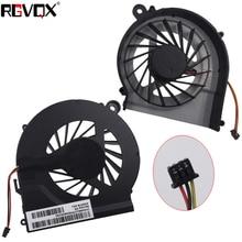 цена на New Laptop Cooling Fan for HP CQ42 G42  G4-1000 G6-100 PN: DFS53II05MC0T FAAX000EPA FAR1200EPA CPU Cooler Radiator