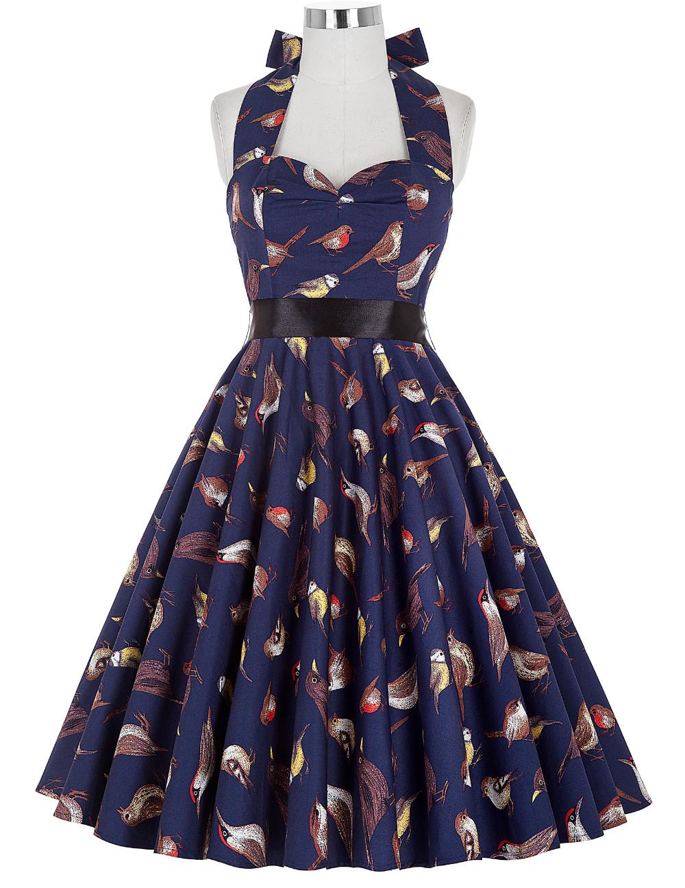 1950 s vestidos de baile corto party dress grace karin estampado de ...