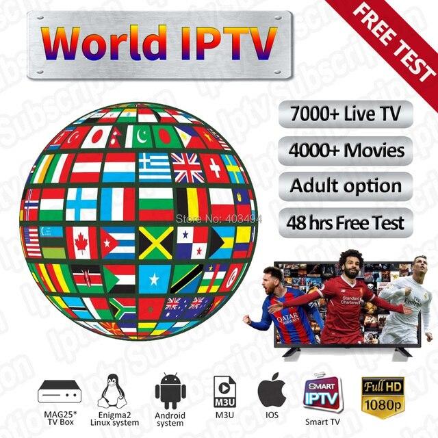 Mundo IPTV Italia M3U IPTV Francia 4 K IPTV España canales 1 año IPTV suscripción alemana Polonia Reino unido España Portugal para Smart TV