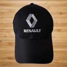 032b179d86818 Renault Logo Black Style Auto Logo Adjustable Embroidered Snapback Hood Hat  Mens Women Unisex(China