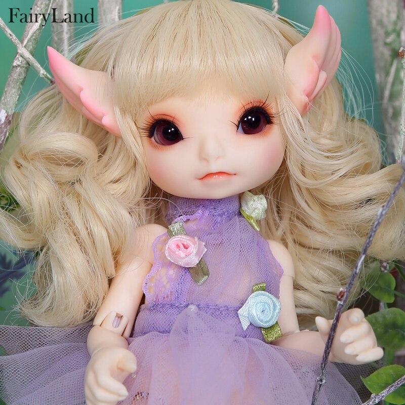 Кукла сказочная RealFee Haru BJD, модель 1/7, игрушки для  мальчиков и девочек, кукольный домик, силиконовая резина, мебель для  анимеreborn girlbjd dolls fairylanddoll fairyland