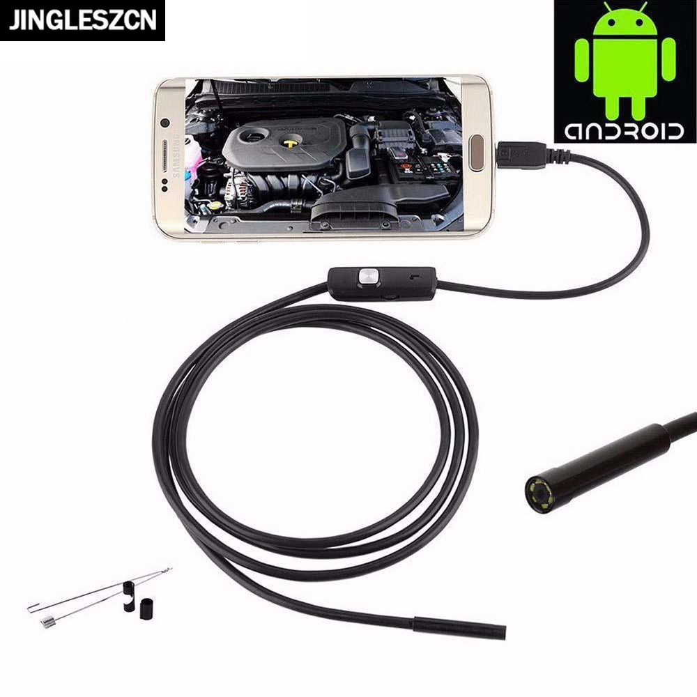 1m/1.5m/2m/3.5m/5m/10m 8mm USB Android Endoscope Mini Camera Rigid Cable USB Inspection Camera Snake Tube Waterproof For PC