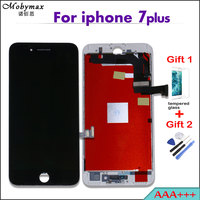 100 Test AAA LCD Display For IPhone 7 Plus Touch Screen Digitizer Assembly Replacement Black White