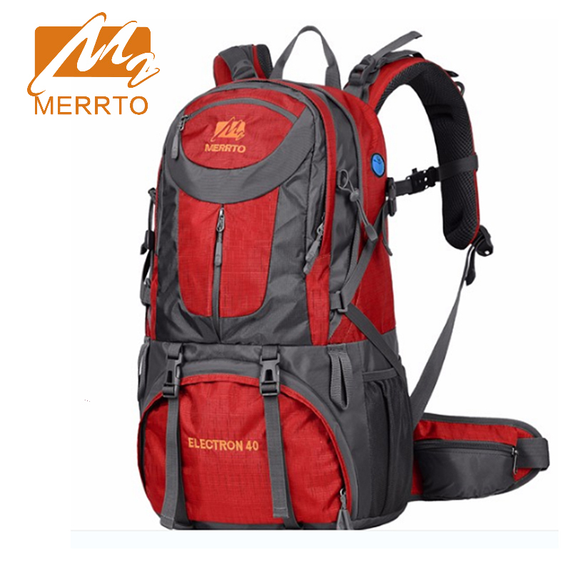 ФОТО 2017 Merrto Outdoor Sport Climbing Mountaineering Backpacks Camping Hiking Trekking Unisex Travel Bag  40L Free Shipping 19826