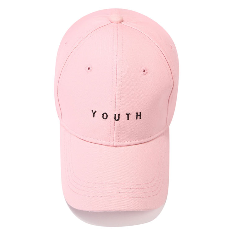 b92d05cd3cf Youth Letter Embroidered Caps Lover Men Women Baseball Cap Snapback ...
