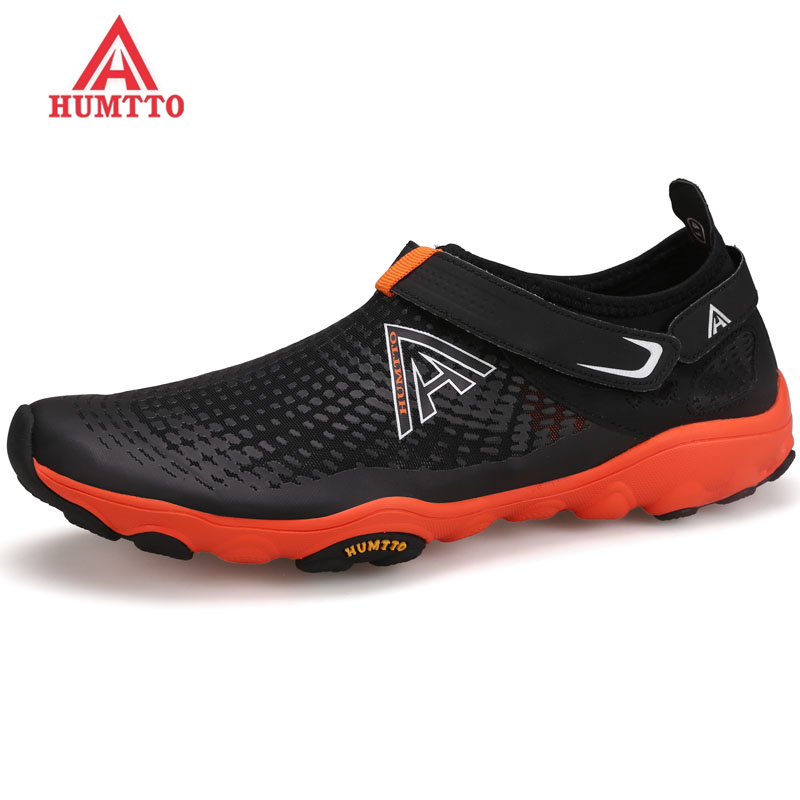 HUMTTO Brand Outdoor Hiking Shoes Men Summer Breathable Trekking Aqua Shoes Man Water Climbing & Fishing Light Sneakers