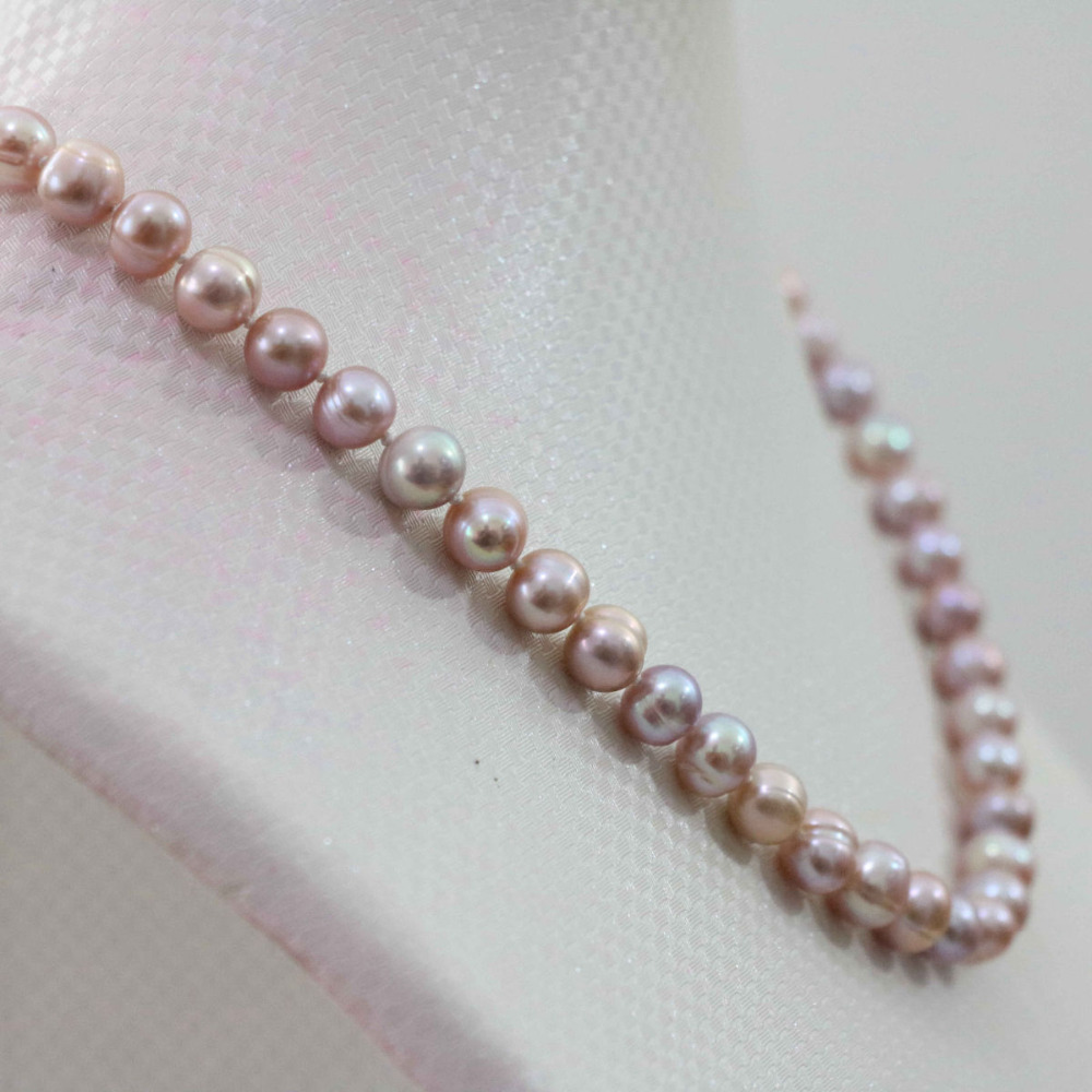 Charming 8-9mm Multicolor Akoya Pearl Necklace >>>women jewerly