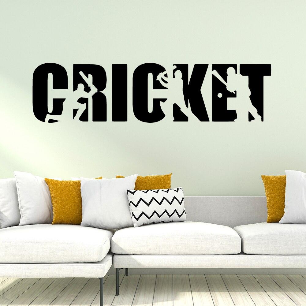 Beleza cricket Pvc Adesivo de Parede Removível Para Decoração de Casa Sala Quarto Art Vinyl Decal