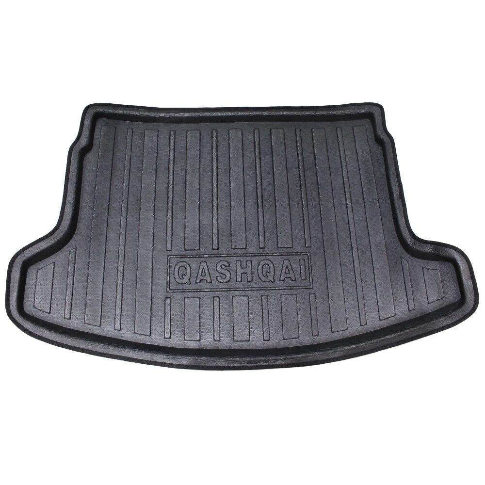 Rubber floor mats nissan sentra 2013 - For Nissan Qashqai 2008 2009 2010 2011 2012 2013 2014 2015 Car Trunk Mat Tray Liner