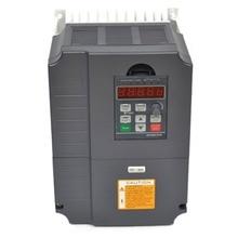Vfd frekans çevirici 7.5kw 220V 10HP değişken frekanslı mekanizma invertör motoru hız kontrol cihazı