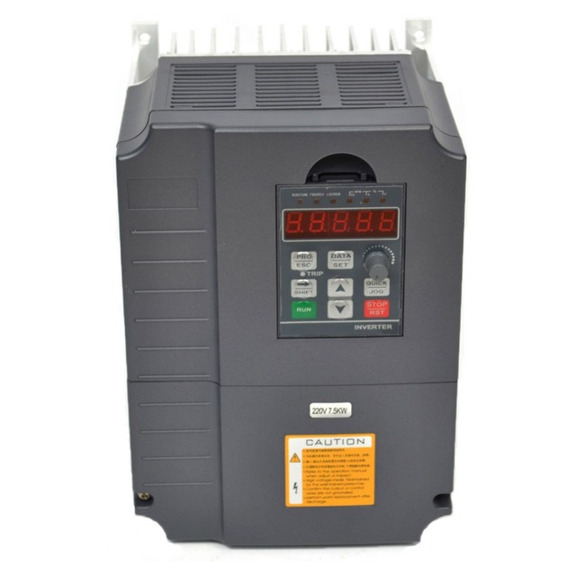vfd frequency inverter 7.5kw 220V 10HP variable frequency drive inverter motor speed controller