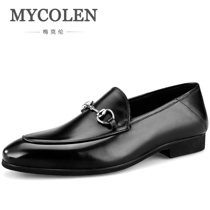 MYCOLEN The New Listing Hot Casual Men Loafers Fashion Comfy Shoes Mens Breathable Slip On Genuine Leather Driving ShoeMYCOLEN The New Listing Hot Casual Men Loafers Fashion Comfy Shoes Mens Breathable Slip On Genuine Leather Driving Shoe