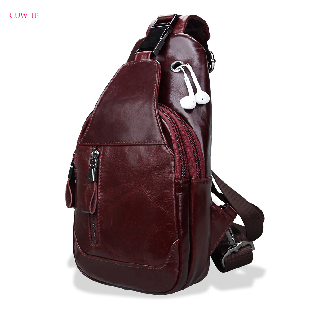 New multifunction Men's Crossbody Bag Leather Casual Man Shoulder Bags Travel Bags High Quality Fashion Chest Bag For Male цена