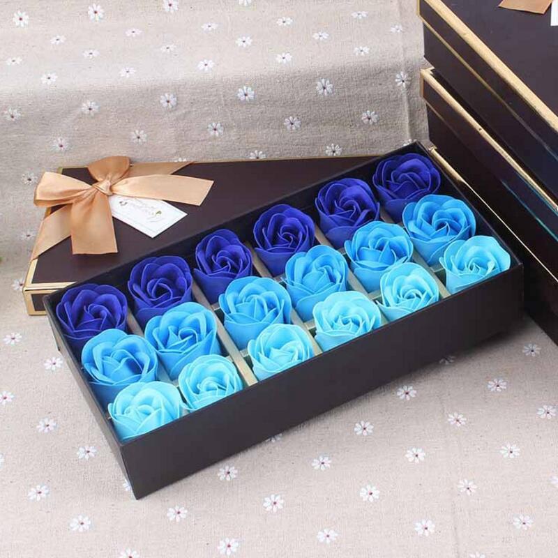 Flor de jabón de rosas caja de regalo para el día de la madre - Para fiestas y celebraciones - foto 4