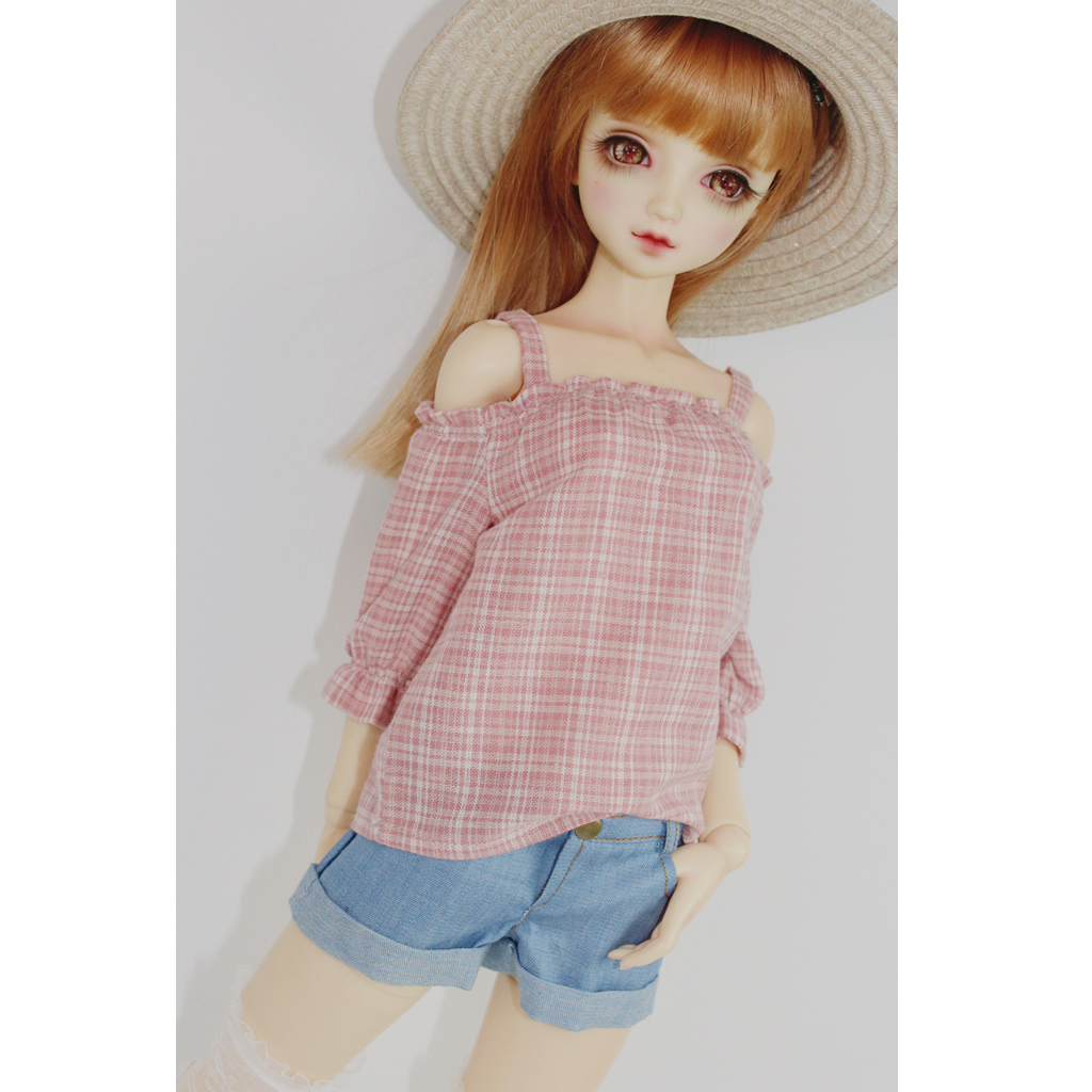 wamami 10# White Shorts Pants Clothes Outfit For 1//4 MSD DOD AOD BJD Dollfie