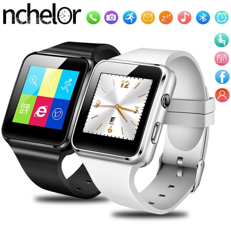 Fitness Tracker Watch Pedomet Camera Support Bluetooth Android Men Women Hot X6 SIM