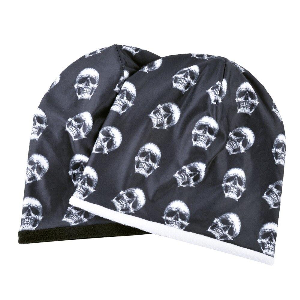 e91d76d8b86d8 Big Discount] TQMSMY Fashion Skull Pattern Hats For Men Winter Warm ...