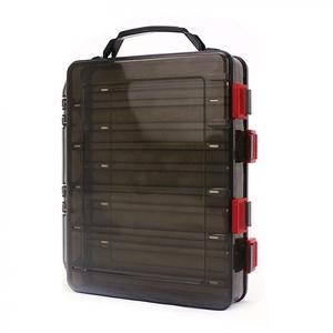 Image 3 - 20 x 17 x 5cm Double Side 10 Compartments Fishing Tackle Box Multi function Portable  with Air Hole for  Lures Storage