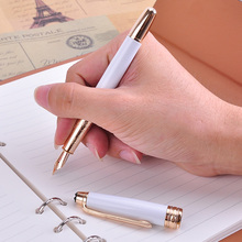1Pcs MB 163 Classic Series 0.5mm Fountain Pen Luxury Monte Ink Pens for Business Gift Office Supplies Stationery Free Shipping