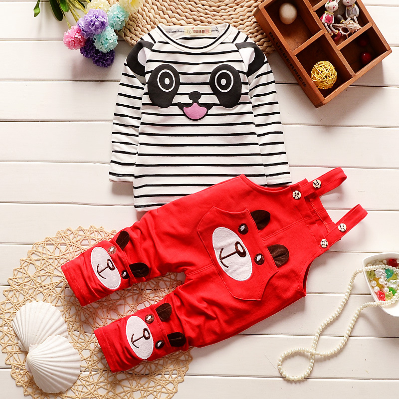 Infant Romper Kids Outwear Long Sleeve cotton Rompers + Strap Children clothing set Newborn baby Boys clothes baby clothes baby boy clothes kids bodysuit infant coverall newborn romper short sleeve polo shirt cotton children costume outfit suit