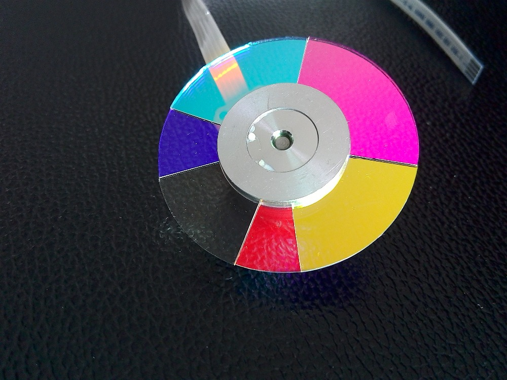 New projector color wheel for Acer P1500 6 segement 44mm-in Projector Bulbs from Consumer Electronics    1