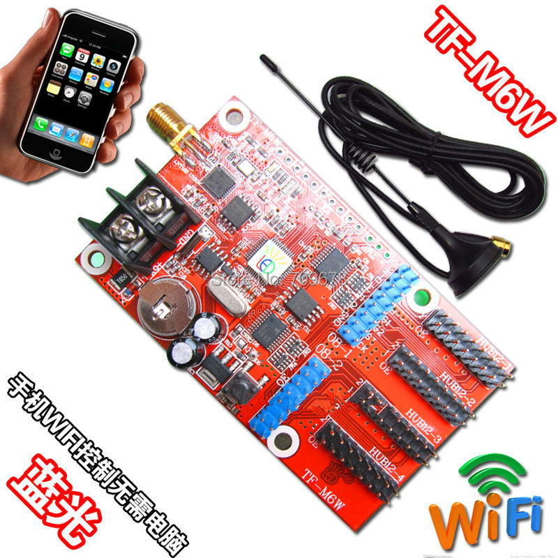 LongGreat TF-M6W(TF-WIFI-M) Mobile WIFI LED Display Control Card Ready To Ship, Support Andriod and Iphone