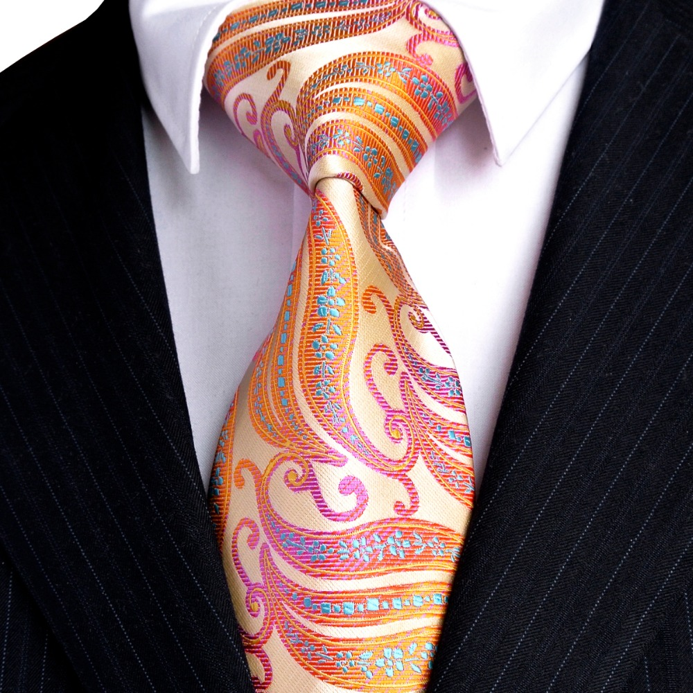 Free Shipping Stripes Paisley Multicolor Green Yellow Red Pink Black - Apparel Accessories - Photo 6