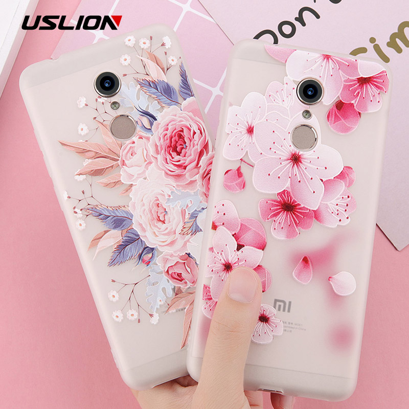 3D Flower Phone Case For Xiaomi Redmi Cover 1