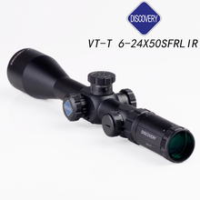 Discovery  Tactical Shotgun Sight scope 30 mm tube VT-T 6-24x50SF FFP side focal Mil adjusting the first