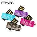 PNY USB 2016 Flash Drive 32 ГБ Металла Прекрасный Атташе Цветок Пера Drive Pendrive USB Flash Stick Хранения USB 2.0 Нью-Йорк Диск