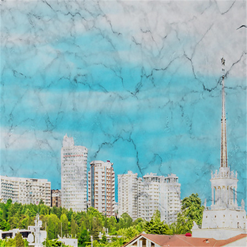Custom European Style Murals 3D Nature Wallpapers Modern Landscape Blue Sky Painting Wall Papers for Living Room Home Decor
