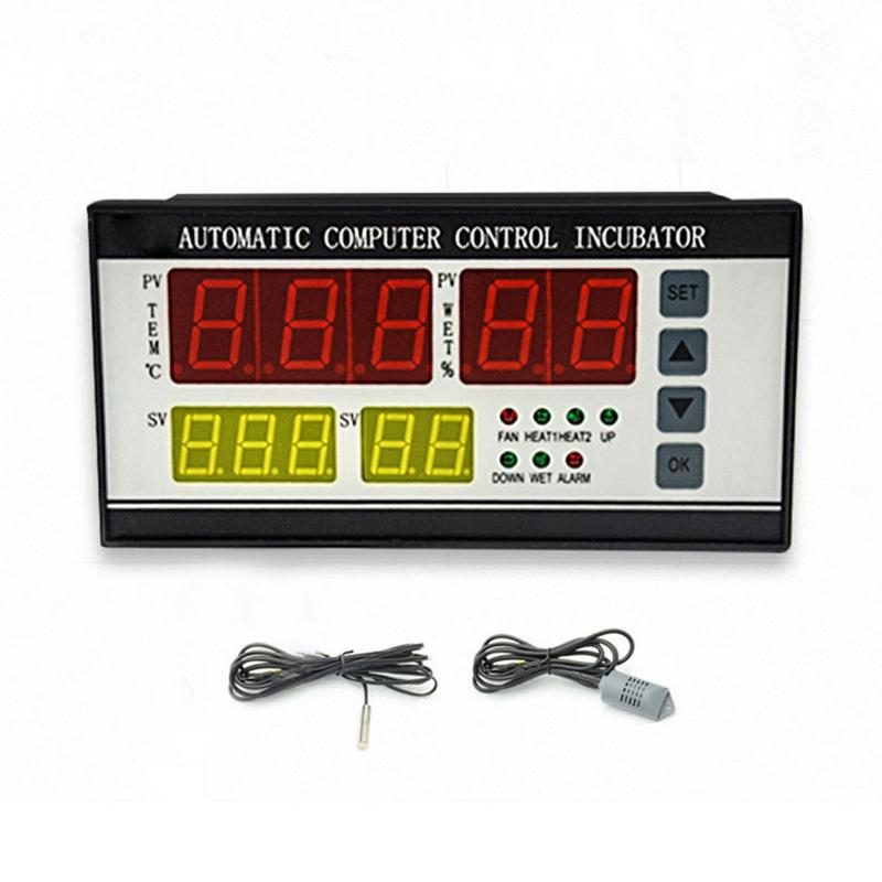 XM 18 Egg Incubator Controller Thermostat Hygrostat Full Automatic Control with Temperature Humidity Sensor Probe 110V