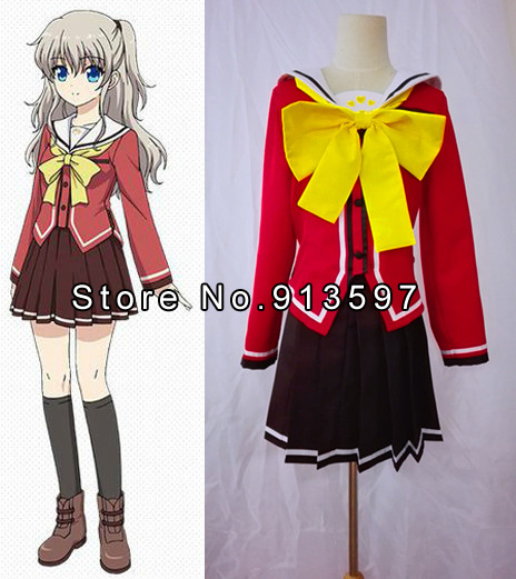 Back To Search Resultsnovelty & Special Use Systematic Anime Charlotte Yusa Nishimori Nao Tomori Cosplay Costume Costumes & Accessories