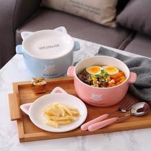 3pcs / set Character baby bow cup Forks Spoon Dinnerware feeding Set, ceramic cartoon children tableware set