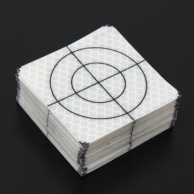 100pcs Reflector Sheet 60 x 60 mm Reflective tape target TOTAL STATION