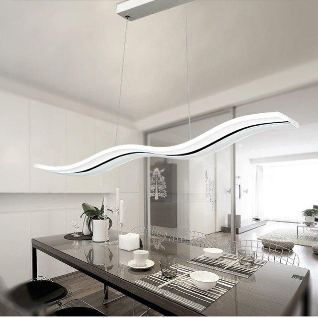 moderne led lustre salle À manger salon acrylique lampe Éclairage ... - Salle A Manger Et Salon Moderne