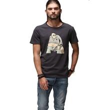 Hot Sale New Summer Printing Tee Cotton Short Sleeve Large Plus Size Fashion Brand Clothing Anime Shirt Men Tshirt Funny A50