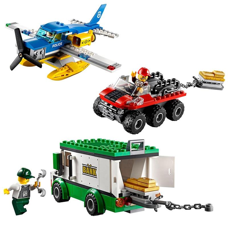 Bela City Police Prisoner Transporter Building Blocks Classic Gangster Model For Kids Toys Gifts Compatible Legoings Car Model Building Blocks