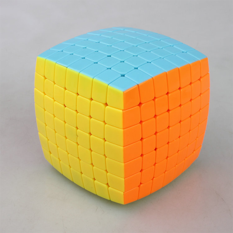 7x7x7 Bread Shape Professional Cube Speed Puzzle Cube 7 Layers Training Puzzle Cube Toy for Children Adult Cubo Magico Gift qiyi megaminx magic cube stickerless speed professional 12 sides puzzle cubo magico educational toys for children megamind