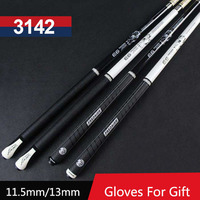 New 10mm 11 5mm 13mm Tip Billiards Pool Cues Stick Two Handle Type China Taco De