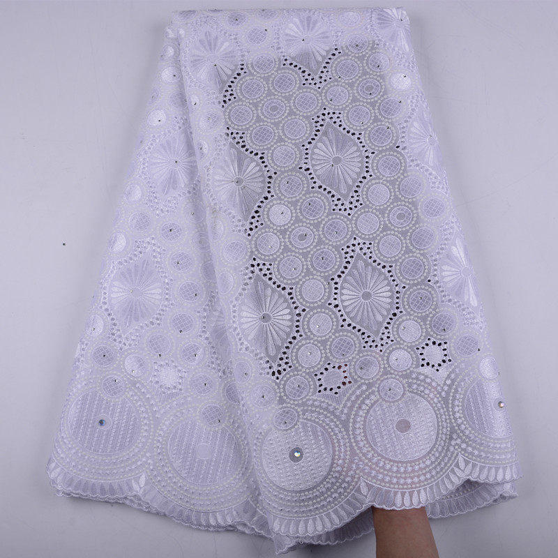 African Swiss Voile Lace High Quality Wedding Dress Lace Fabric 100 Cotton Swiss Voile Lace In
