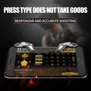 Image 5 - S8 PUBG Smartphone Game Controller  joystick Fast Shooting Trigger Aim Button L1 R1 Key For Pugb Mobile Game For xiaomi iphone