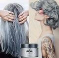 Light Gray Hair Cream Color Easy Temporary DIY Super Dye